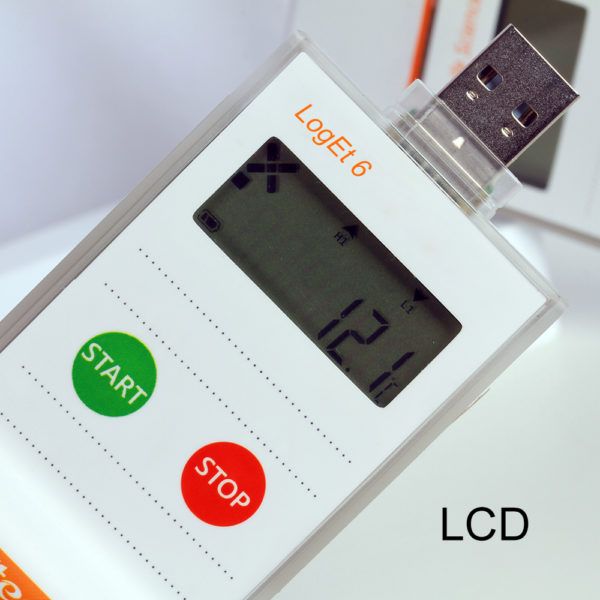 Single Use Data Logger
